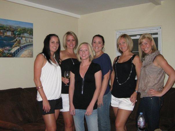 Me, Jill, Kim, Sandra, Olivia, and Emily.