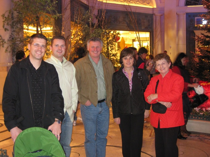 Jord, Wes, Dad, Mom, Grandma Dot.