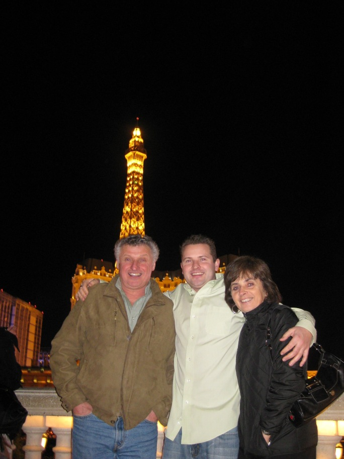 Dad, Wes & Mom